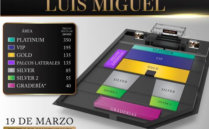Luis Miguel en Panamá 2019